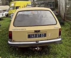1980 OPEL Rekord E1 2.1 D Caravan