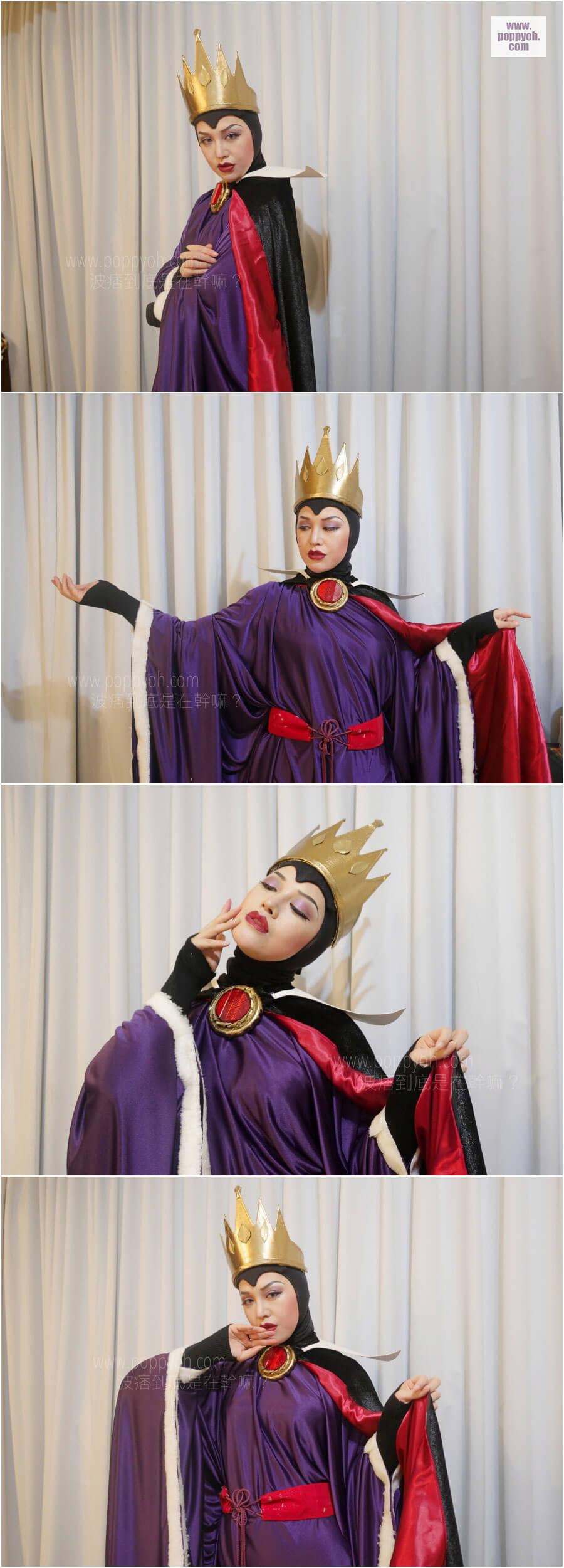 迪士尼 壞皇后 cosplay