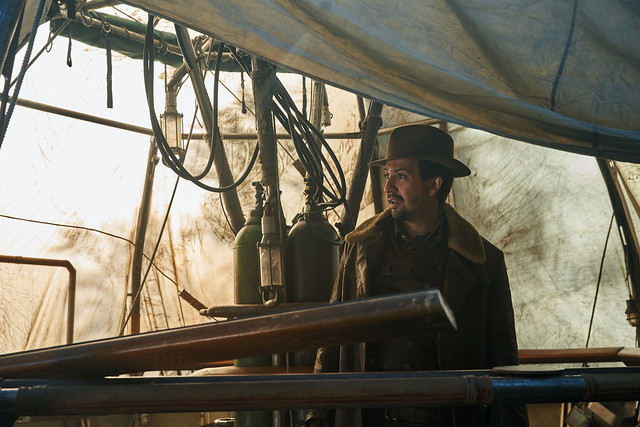 Lin-Manuel Miranda - credit Simon Ridgway, HBO