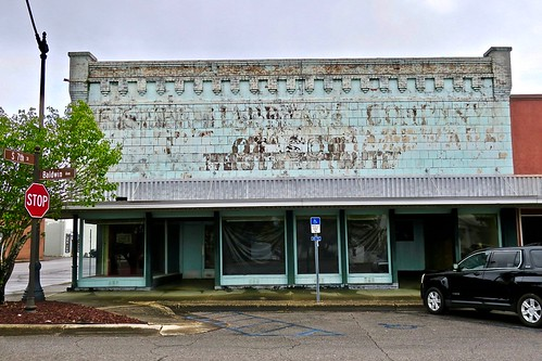 Ghost Sign, DeFuniak Springs, FL