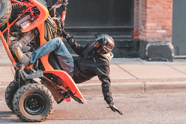Street Rider in Detroit