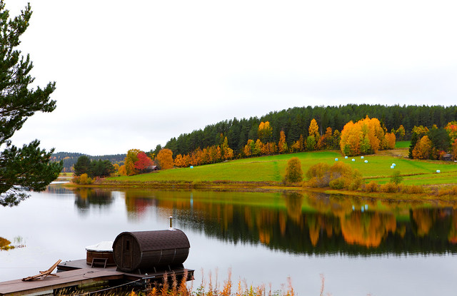 Autumn i Kramfors : Sweden