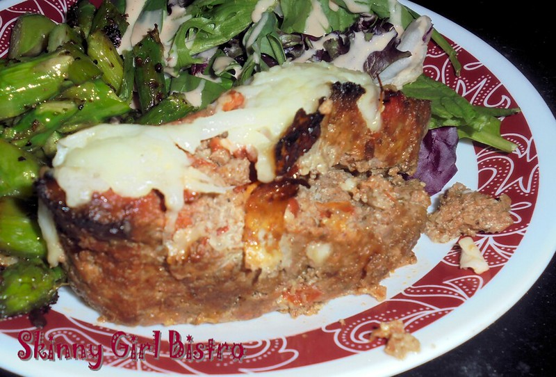 Photo: Italian-style meatloaf