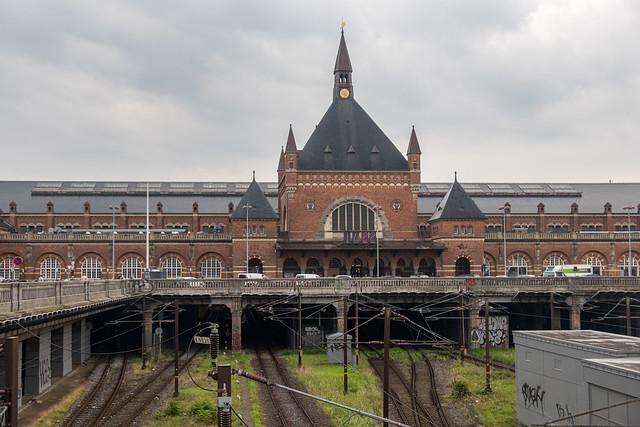 Copenhagen Train Station, Denmark