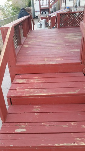 Front Porch After Sanding