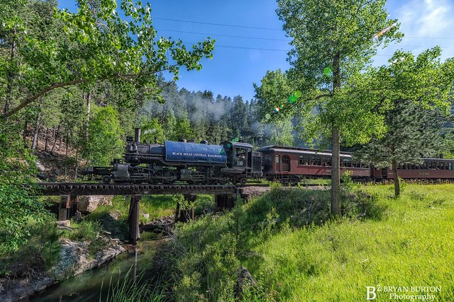 Black Hills Central RR 110.