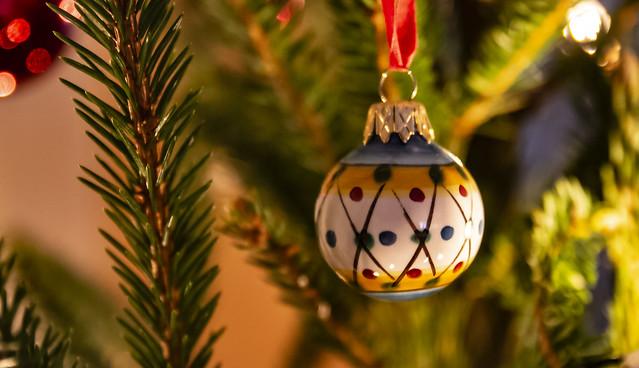 Christmas bulb from Sicily