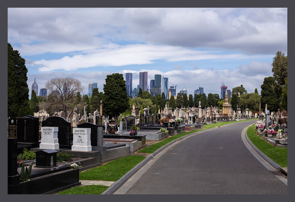 A tale of two graveyards