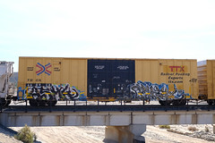 Benching SoCal Freight Graffiti - Oct. 16th 2020