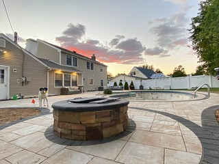 Pool Patio and Outdoor Living - Lake Grove, NY 11755 | by Stone Creations of Long Island Pavers and Masonry