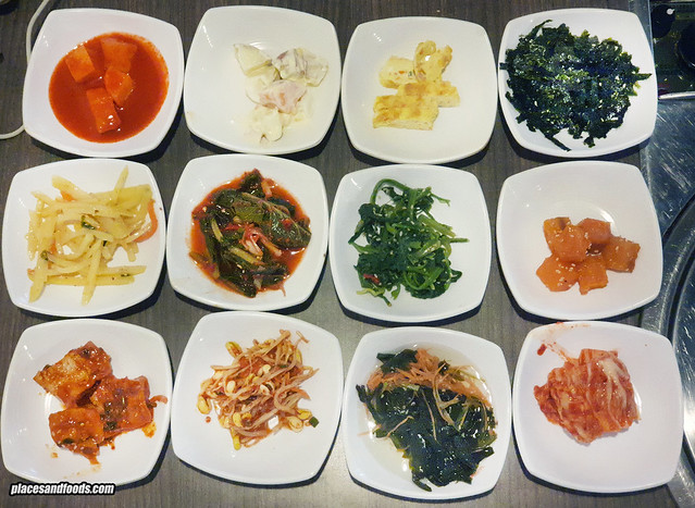 han korea bbq side dish