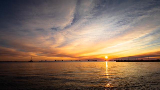 Sunset at Kiptopeke