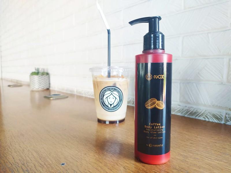 NOX Coffee Body Lotion by NATASHA