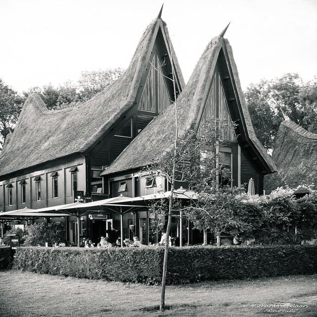 Minangkabau West Sumatra Architecture - Restaurant Minang Kabou (Rotterdam/NL)