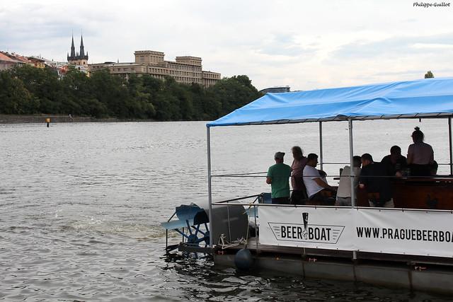 Beer Boat, Praha
