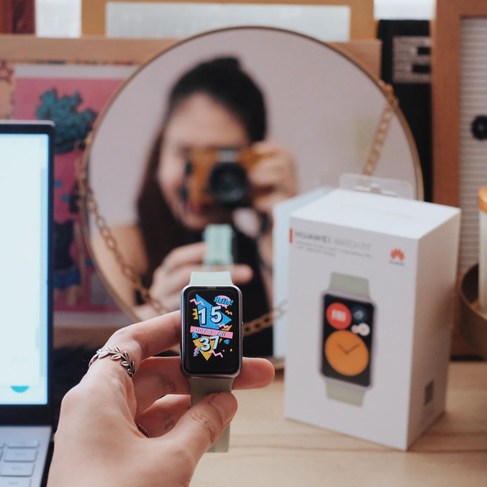 Ruth dela Cruz Huawei Watch Fit Review