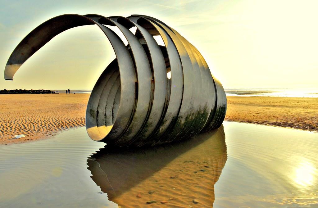 Mary's Shell at Cleveleys, Lancashire