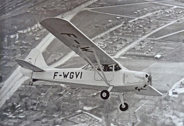 Avion monoplan Brochet MB-120 Aériastory Anciens Aérodromes