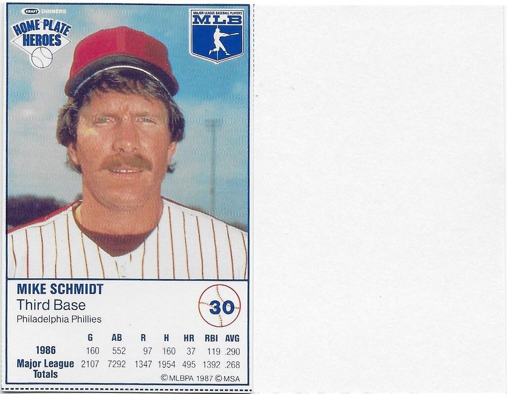 1987 Kraft Sample (Mike Schmidt)