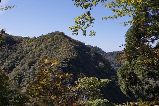 秋晴れの医王山からその2