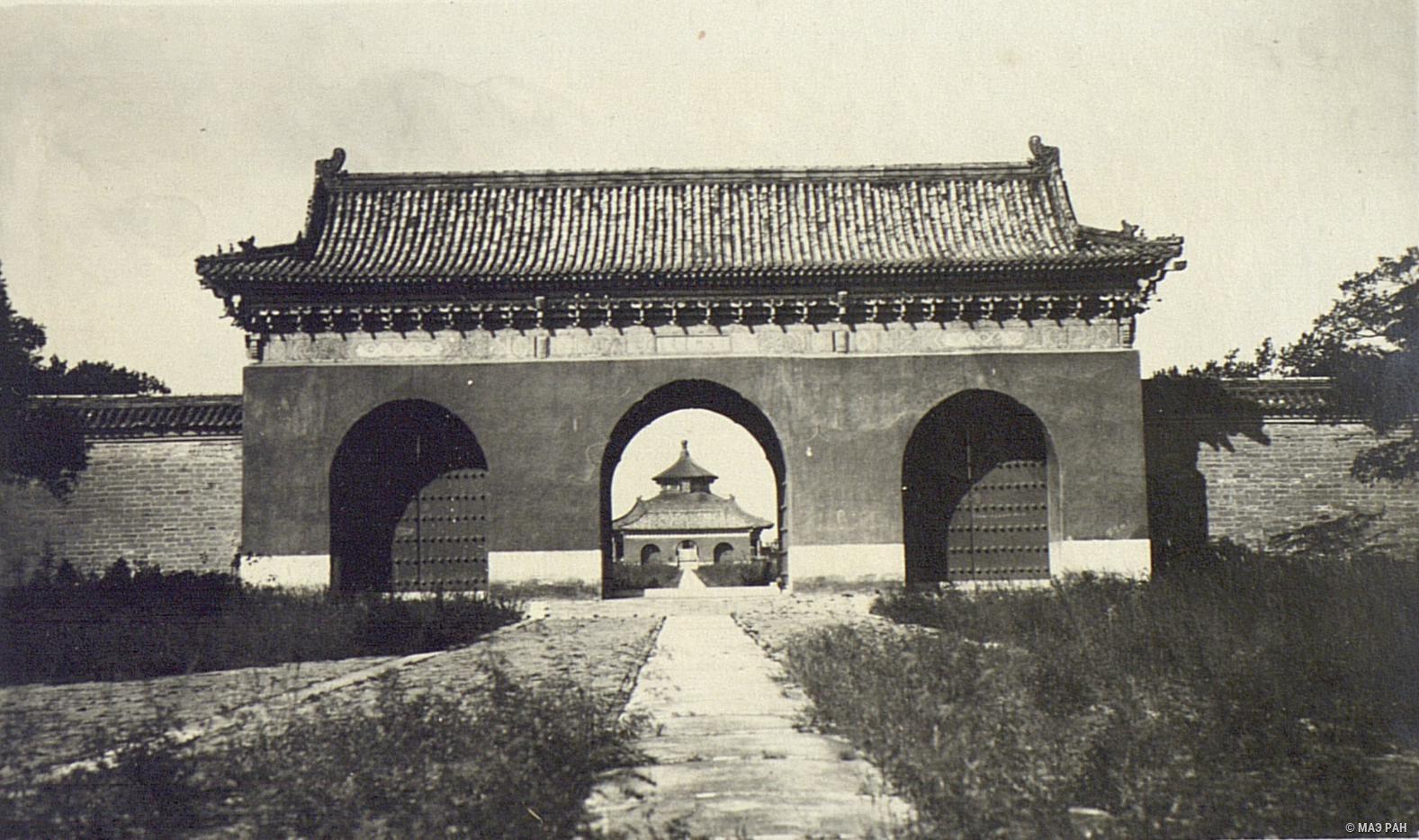 Храм Неба. Дорога от алтаря к храму