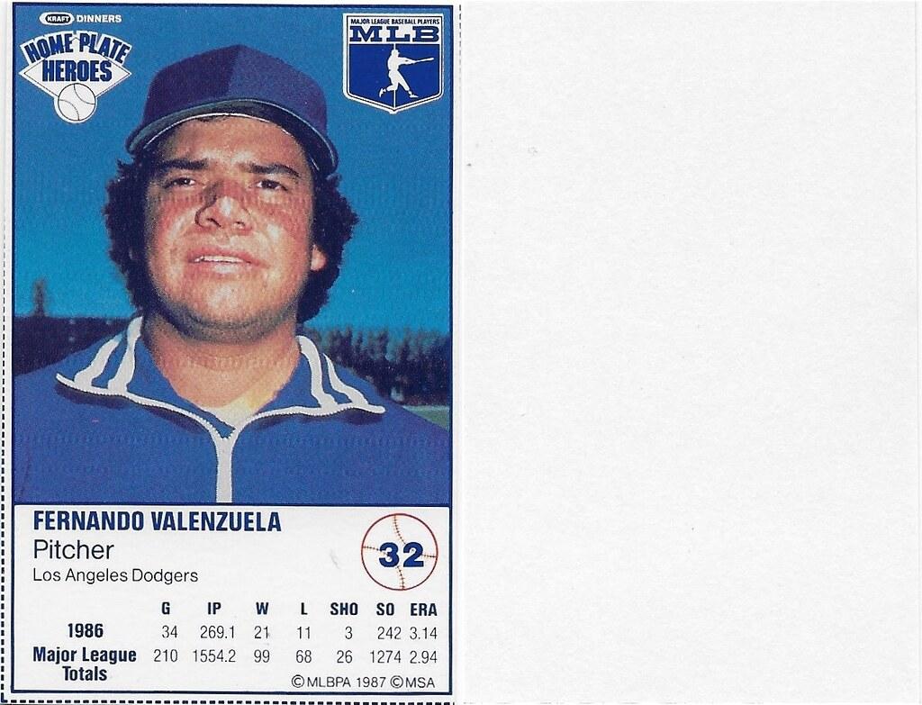 1987 Kraft Sample (Fernandez Valenzuela)