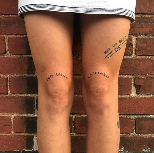 Knee Tattoo Ideas #0 | by Planet Tattoos