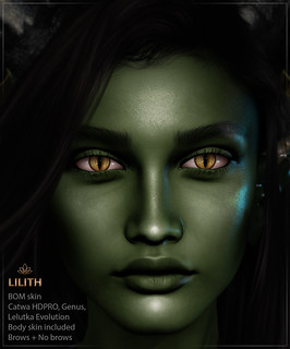 Lilith emerald - Catwa HDPRO/Lelutka Evo/Genus | by Veronika Beningborough