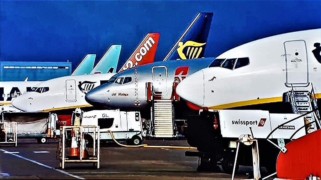 A Line Up of Jets.
