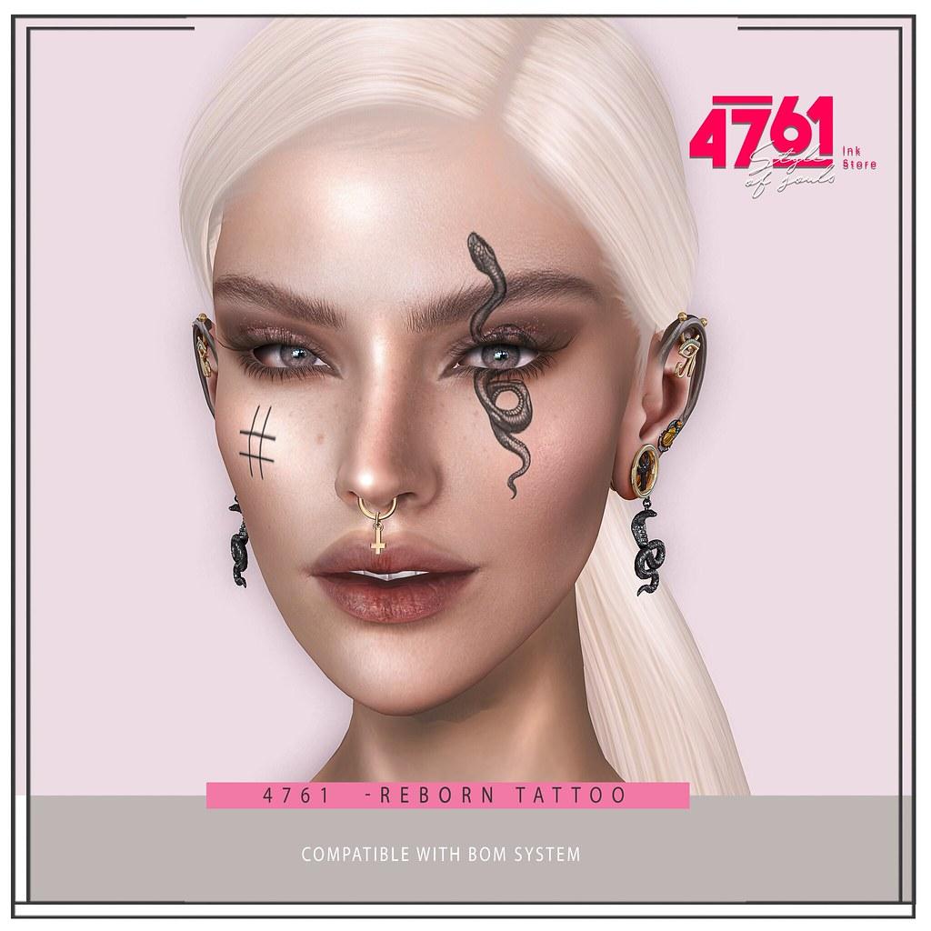 4761 – Reborn Head Tattoo