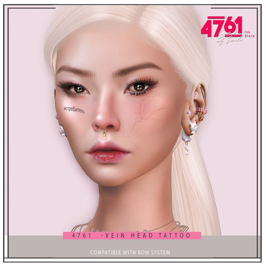 4761 – Vein Head Tattoo