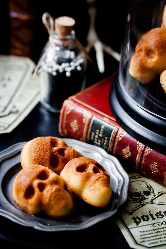 Halloween Muffins: Smoked Whisky Skulls