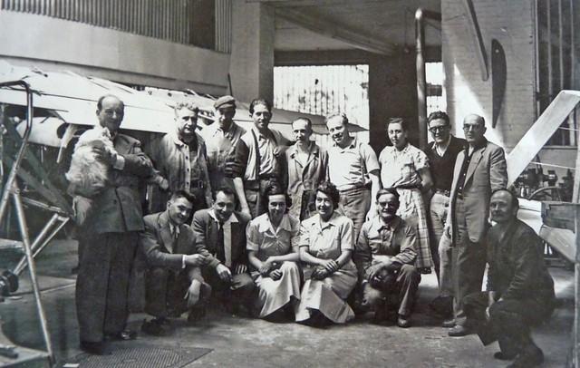 Neauphle-le-Château atelier famille Maurice Brochet hangar avion Aériastory Anciens Aérodromes