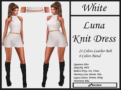 Passion-Luna-Knit-Dress-White