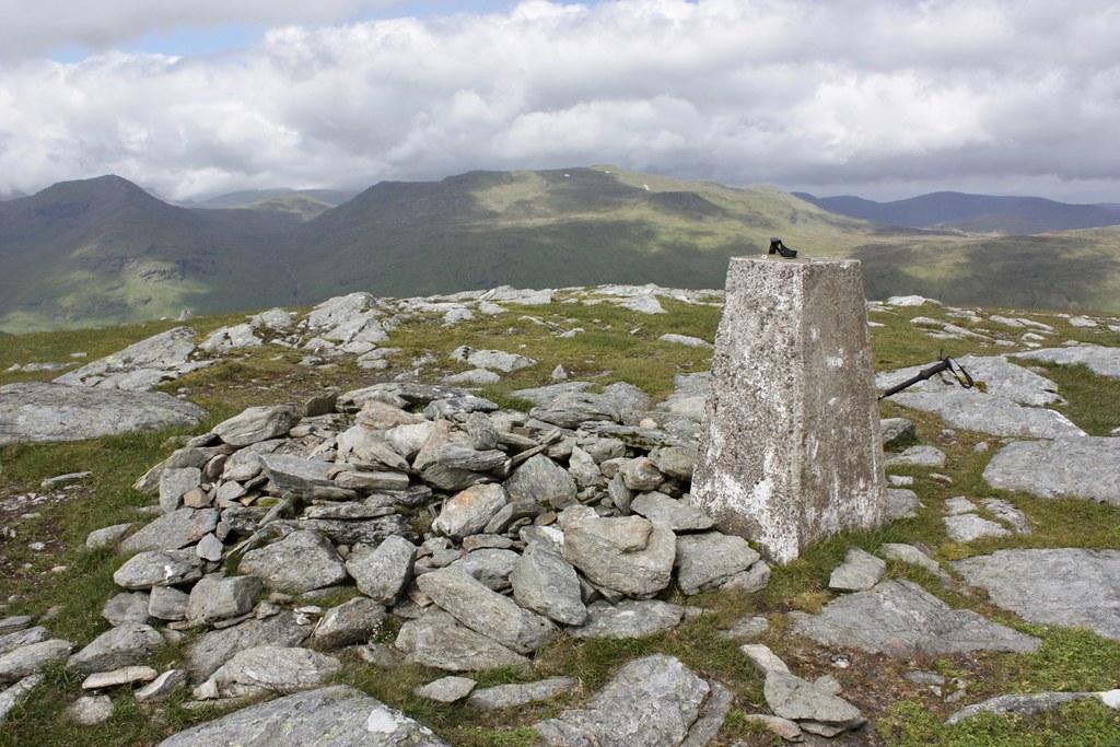 Summit of Beinn Cheathaich
