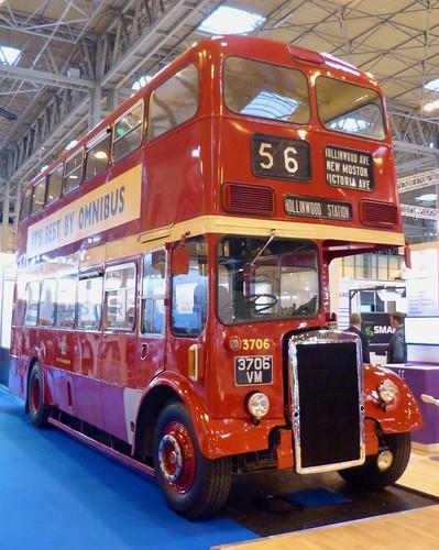 3705 VM 'City of Manchester' No. 3705. Leyland PD2 / Metro Cammell on Dennis Basford's railsroadsrunways.blogspot.co.uk'