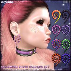 [ bubble ] Halloween Gauge Earrings Set