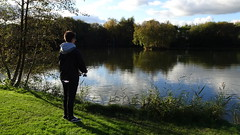 Christian by the lake