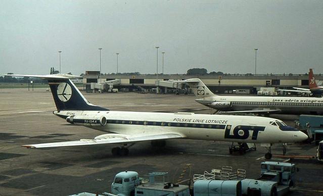 SP-LHG LOT - Polish Airlines Tupolev Tu-134A