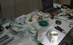 Brush-wires making in the process