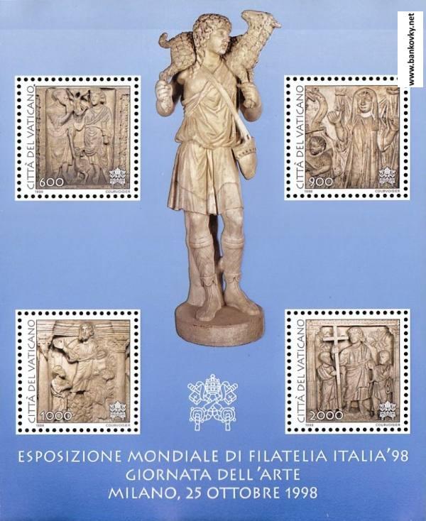 Známky Vatikán 1998 Kristus a apoštoli