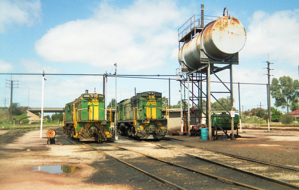 Port Pirie loco by David Arnold