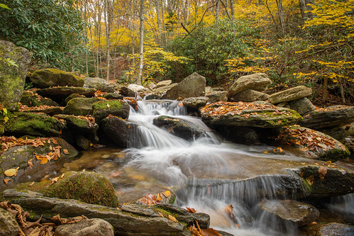 north northcarolina carolina boone nps brp water waterfall fall longexposure le nikon nikond850 d850 sirui siruitripods blue blueridgeparkway blowingrock blowing rock