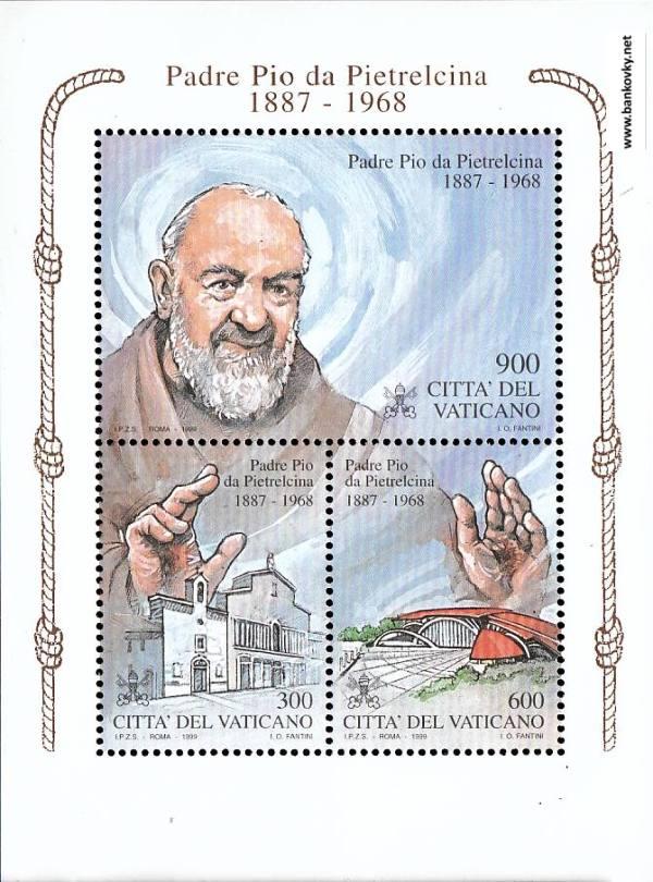 Známky Vatikán 1999 Páter Pio