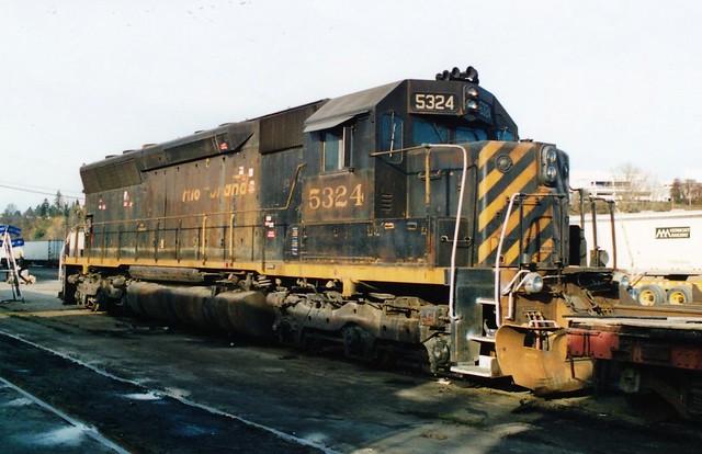 DRGW 5324 SD45