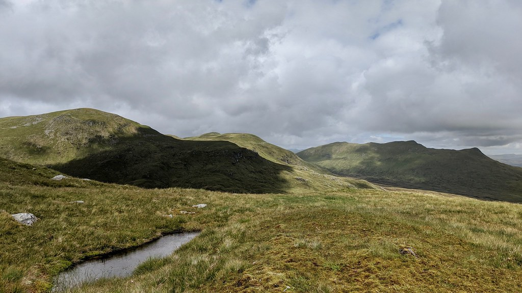 Meall Glas and Sgiath Chuil
