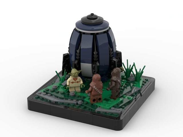 Lego Star Wars Yoda's Escape Pod MOC