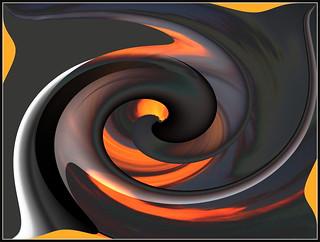 """🌟💥""""Das schwarze Loch nach meiner Fantasie mit Gimp erstellt !""""😎"""