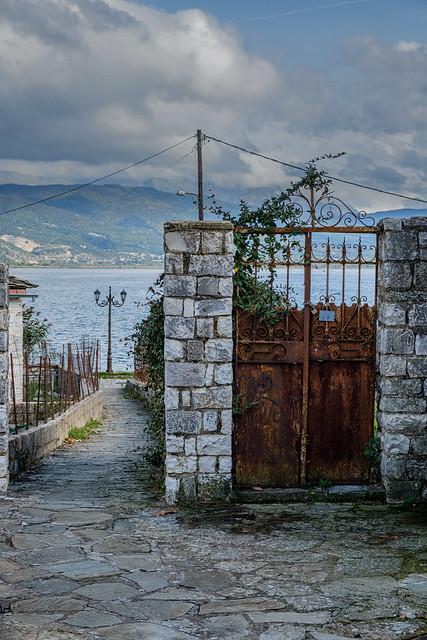 Gate, Ioannina Island, Greece