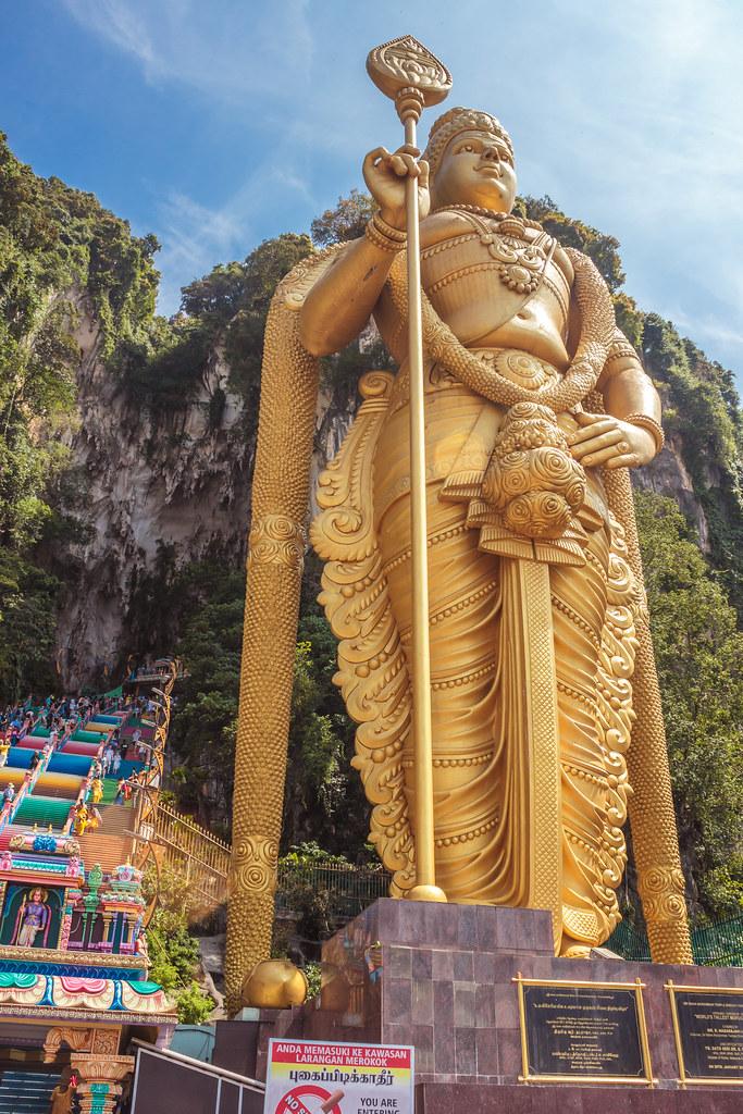 пещеры Бату в Куала-Лумпуре